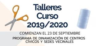 Programa de Dinamización de Centros Cívicos y Sedes Vecinales 2019/2020