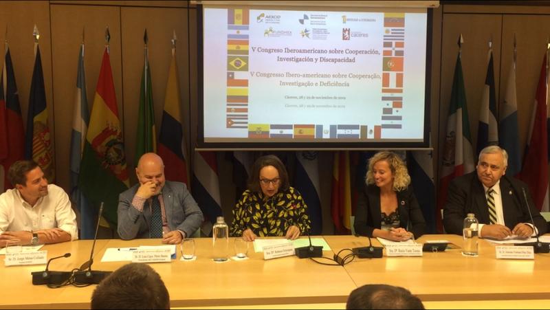 Cáceres acogerá en Noviembre el V Congreso de Cooperación, Investigación y Discapacidad 2019: DERECHOS, GÉNERO, DISCAPACIDAD Y ÁMBITO RURAL