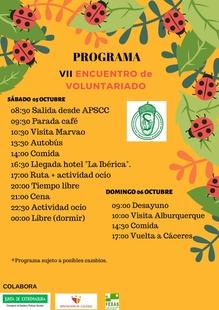 VII Jornadas de voluntariado de la Asociación de Personas Sordas de Cáceres