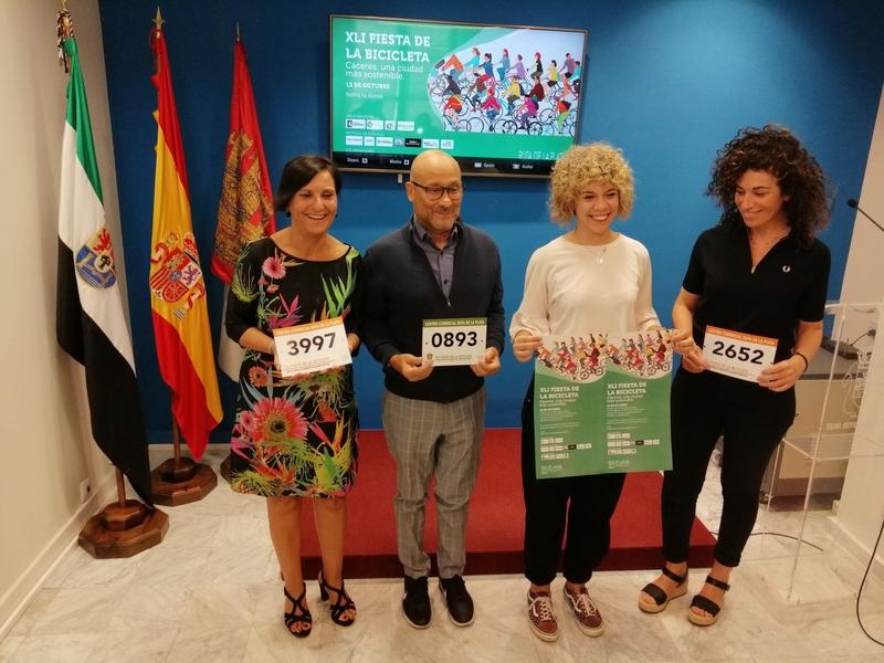 El 13 de octubre se celebra en Cáceres la XLI Fiesta de la bicicleta