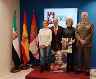 El Club de esgrima San Jorge acogerá la concentración nacional militar de esgrima en Cáceres