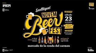 El sábado 23 se celebrará el Novembeer Fest en el Mercado de Ronda del Carmen