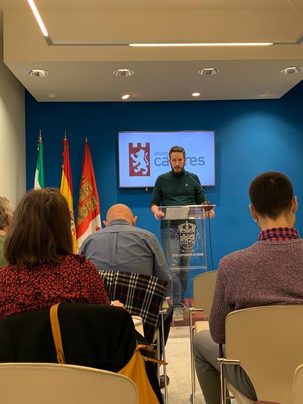 El ayuntamiento de Cáceres solicitará el 1,5 cultural para continuar la rehabilitación de la muralla