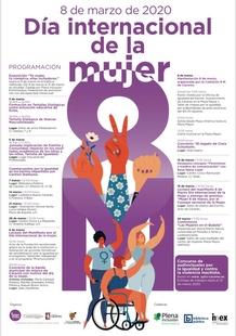 MARZO SE CONVIERTE EN EL MES DE LA IGUALDAD CON ACTIVIDADES MUNICIPALES Y DE COLECTIVOS CON MOTIVO DEL 8M