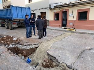 Comienza la renovación del abastecimiento del suministro de agua en Aldea Moret