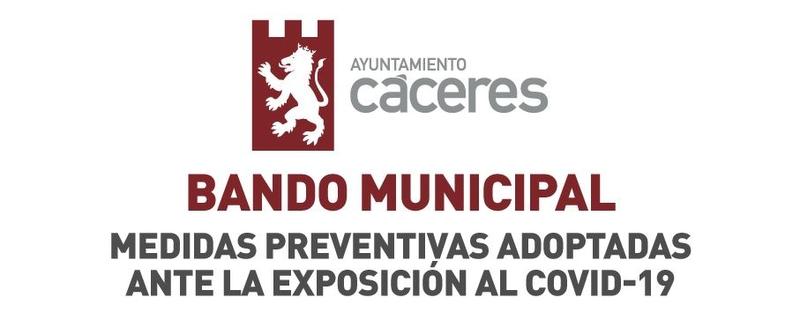 Resolución de Alcaldía por la cual se ordena la retirada de veladores y terrazas en las calles