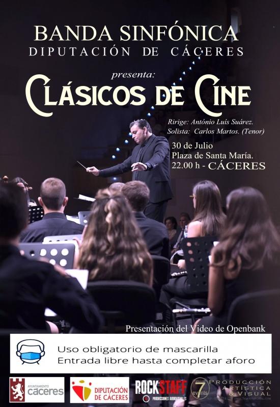 La Banda Sinfónica de la Diputación Provincial de Cáceres ofrecerá su primer concierto el 30 de julio en Santa María