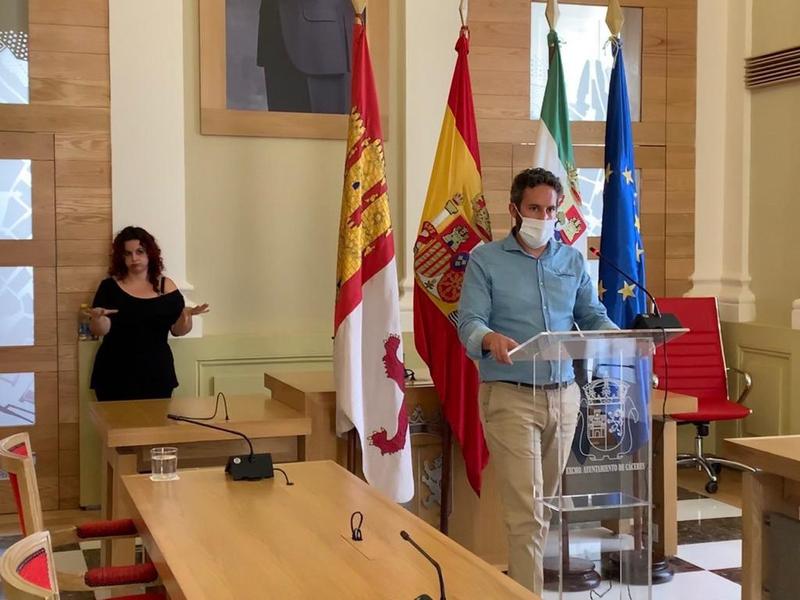 El Ayuntamiento de Cáceres hace un llamamiento a la responsabilidad de los cacereños y cacereñas ante la evolución de los datos del coronavirus