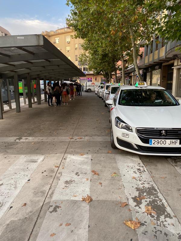El Ayuntamiento de Cáceres llega a un acuerdo con Radio-Taxi para dividir la parada de Plaza de América