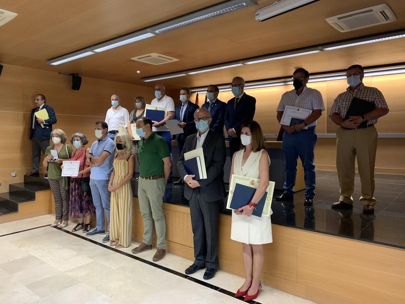El subdelegado del Gobierno en Cáceres felicita a los funcionarios de prisiones por su entrega y profesionalidad durante el Estado de Alarma