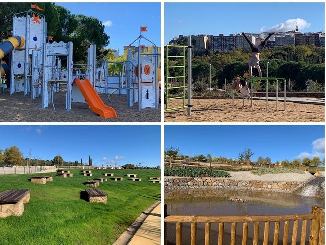 El Parque del Príncipe estrena hoy 80.000 metros cuadrados más y alcanza las 30 hectáreas