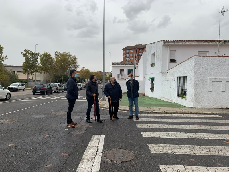 El PP denuncia el retraso en las obras de accesibilidad en las calles Ronda de la Pizarra y Roche Sur Yon, presupuestadas en 360.000 euros
