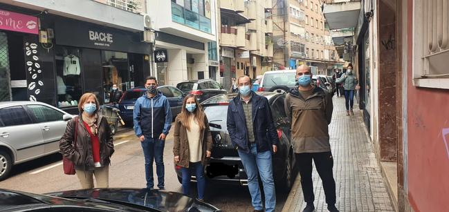 El PP pide al Ayuntamiento de Cáceres que arbitre medidas para ayudar al comercio de la ciudad