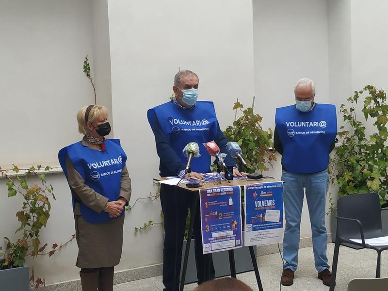 Banco de Alimentos de Cáceres utilizará donaciones en caja de los supermercados y Bizum para su próxima campaña solidaria