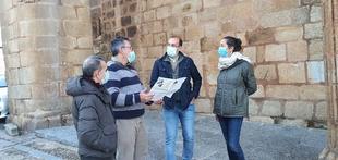 El PP pide que se ejecute cuanto antes la reforma de la Plaza de Santiago y su entorno con los fondos EDUSI