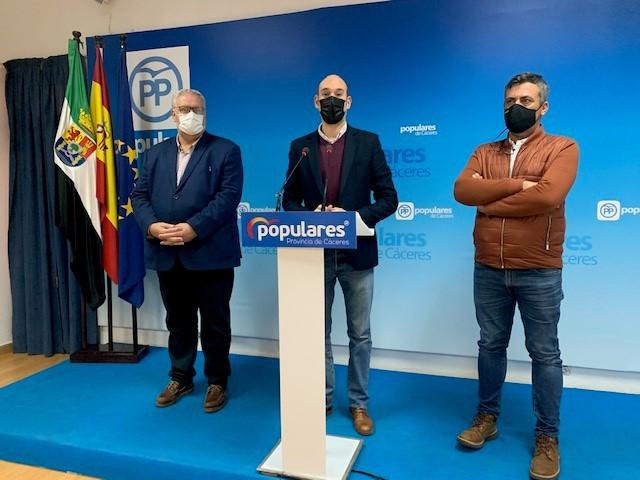 El PP pide a la Diputación que exima a los ayuntamientos del pago de cerca de 7 millones de euros por la cofinanciación de las inversiones
