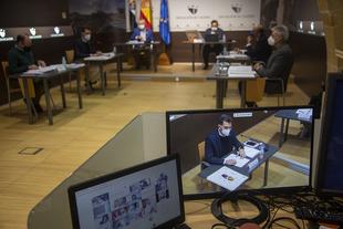 Los votos favorables de PSOE y C´S dan luz verde a los presupuestos de la Diputación con 160,4 millones de euros