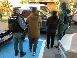 Doce detenidos por la Guardia Civil en una operación antidrogas en el norte de Cáceres