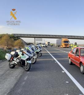 Condenado el ciudadano portugués detenido por la Guardia Civil cuando circulaba a 212 km/h por la A-5, a la altura de Jaraicejo