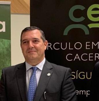 Diego Arturo Hernández: El tejido empresarial de Cáceres no despegará mientras no haya una unión de todas las organizaciones empresariales