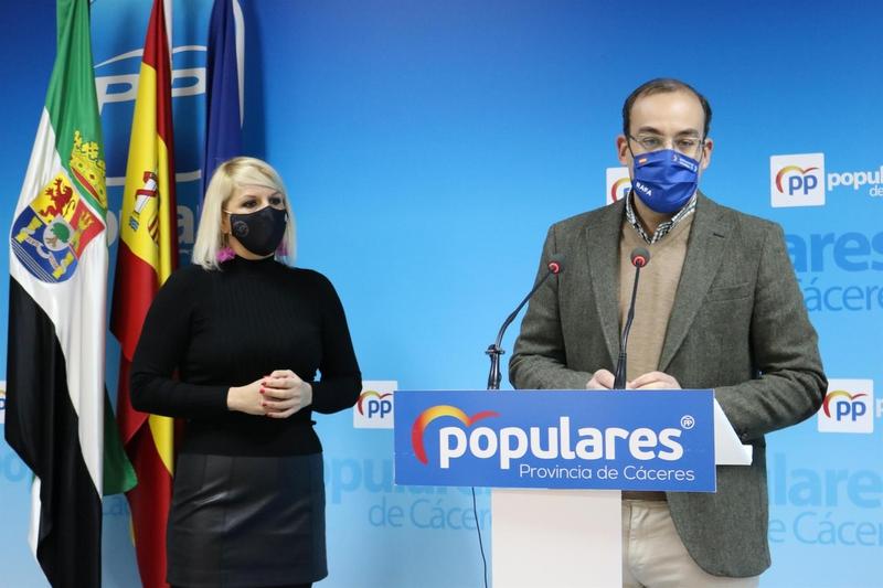 """El PP de Cáceres acusa a Salaya de incumplir todos sus compromisos y de merecer el título de """"el alcalde desaparecido"""""""
