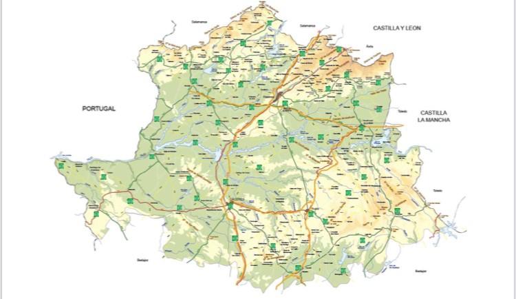La provincia de Cáceres contará, a lo largo de este año, con 53 puntos de recarga para vehículos eléctricos