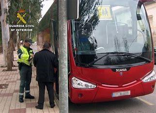 De los 129 vehículos de transporte escolar inspeccionados en la región por la DGT en su última campaña, sólo 10 cumplían con todos los requisitos