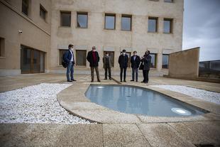 La Diputación Provincial recepciona las obras de reforma de la Casa Pereros, que han tenido un coste de 4 millones de euros