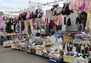 El Mercado Franco de Cáceres se pondrá mañana, miércoles, con todos sus puestos de alimentación y textil
