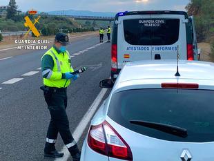 Investigado por la Guardia Civil el presunto autor del grave atropello a dos peatones en Montehermoso el día de Navidad