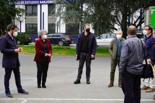 Comienzan las obras que unirán los parques de Cánovas y del Príncipe con un corredor peatonal