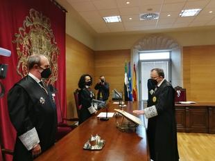 González Casso jura su cargo como presidente de la Audiencia Provincial de Cáceres y alude a la importancia de la independencia judicial