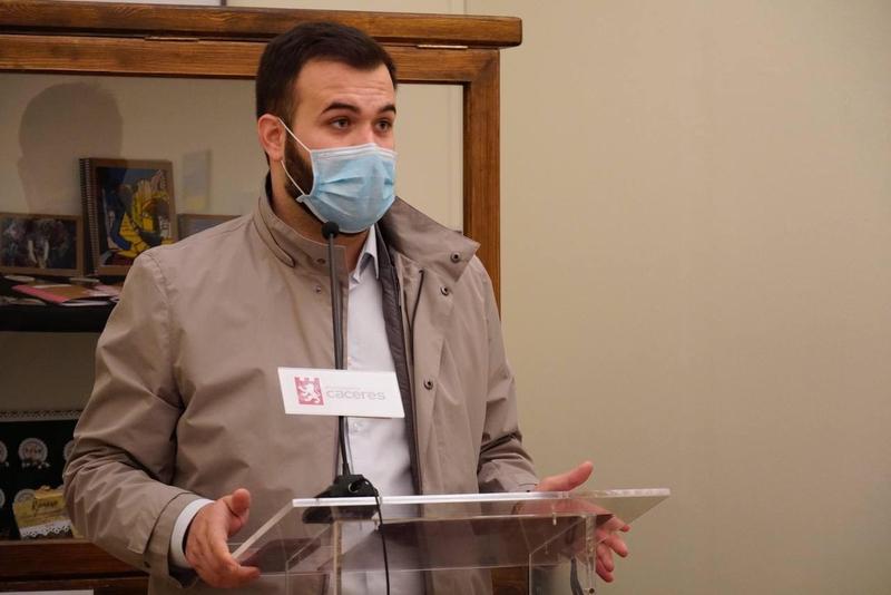 Salaya afirma que el empeoramiento de los contagios por Covid en Cáceres 'nos han hecho retroceder un mes'
