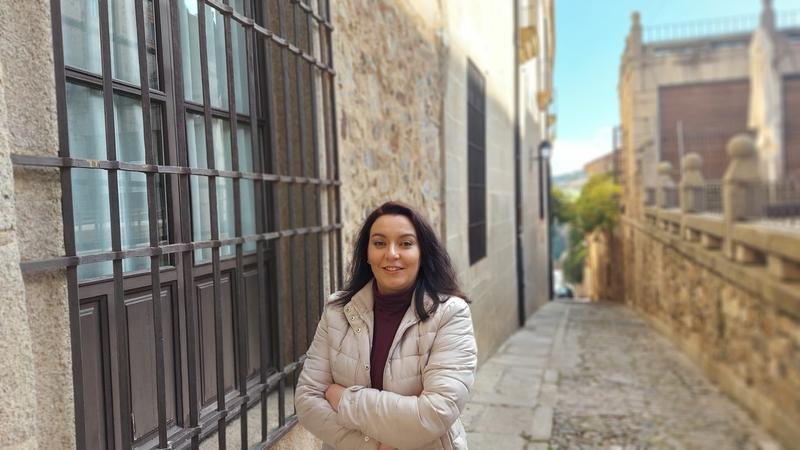 La coordinadora de la gestora local de Cáceres Viva opina que la crisis de Ciudadanos beneficiará a su formación