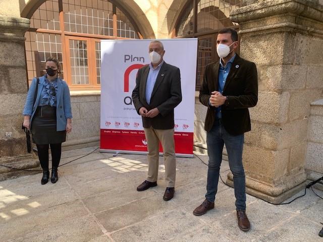 La Diputación ejecuta el 100% de los 20 millones de euros presupuestados para el Plan Re-Activa para luchar contra los  efectos del Covid