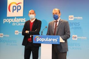 El PP lamenta que Vara y el PSOE se hayan negado a decir alto y claro un no a la mina de litio en Cáceres