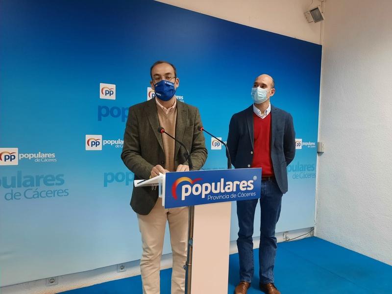 El PP pide al alcalde de Cáceres que exija al presidente de la Junta la creación de una plataforma logística en la ciudad como la de Badajoz