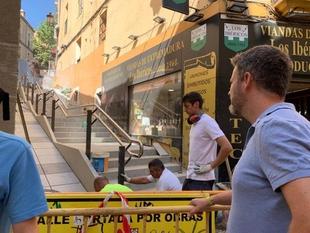 El Ayuntamiento culpa al anterior gobierno del PP de la denuncia de un ciudadano por la situación de inaccesibilidad de la calle Alzapiernas