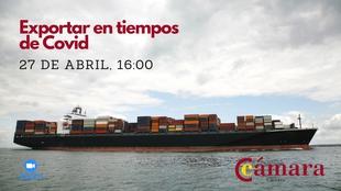 La Cámara de Comercio de Cáceres organiza unas jornada para enseñar cómo exportar en tiempos de Covid