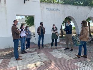 El PP denuncia la dejadez del ayuntamiento con Rincón de Ballesteros y pide a Salaya que realice de manera urgente obras de mejora