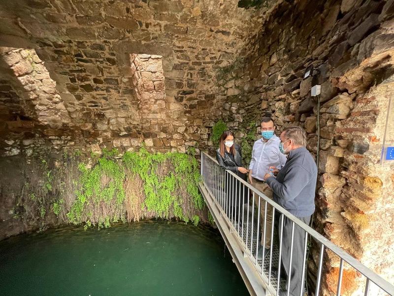 El Consorcio Cáceres Ciudad Histórica recupera para el turismo la Cisterna de San Roque y la Fuente de Concejo
