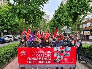 UGT denuncia que, en 2020, los accidentes laborales se incrementaron en Extremadura en un 109,9 por ciento, a pesar de la paralización de la economía
