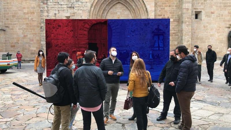Se inaugura la Bienal de Arte Contemporáneo 'Cáceres Abierto', entre polémica por algunas de sus intervenciones artísticas