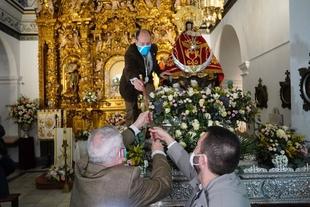 La Virgen de la Montaña tiene, un año más, el Bastón de Mando de la Ciudad