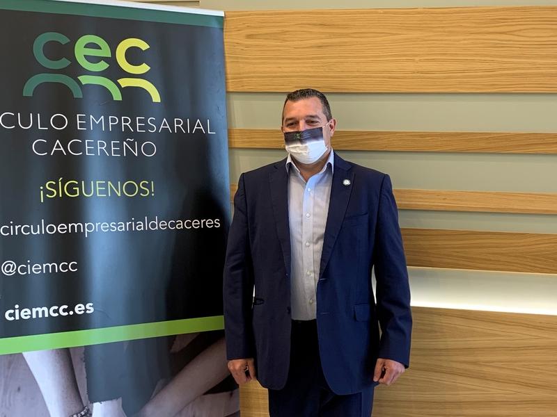 El Círculo Empresarial Cacereño (CEC) reclama al ayuntamiento mayor agilidad en la aprobación de las ayudas Covid para los empresarios