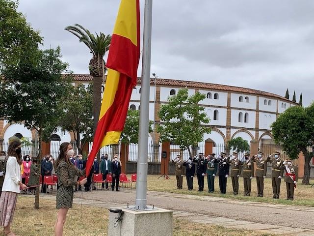 La Subdelegación de Defensa en Cáceres celebra su XXV Aniversario, estando entre las mejores valoradas de España