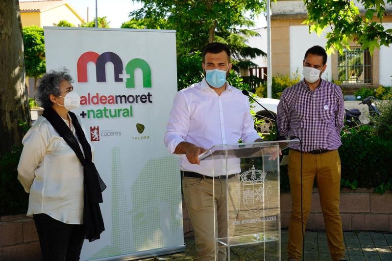 El programa 'Aldea Moret + natural' potencia la educación ambiental y la conservación de los espacios públicos