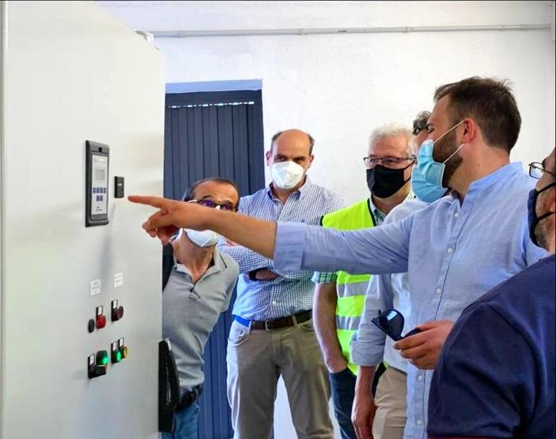 El nuevo sistema de captación de agua del Almonte permitirá bombear hasta 36.000 metros cúbicos diarios, el consumo medio diario en verano