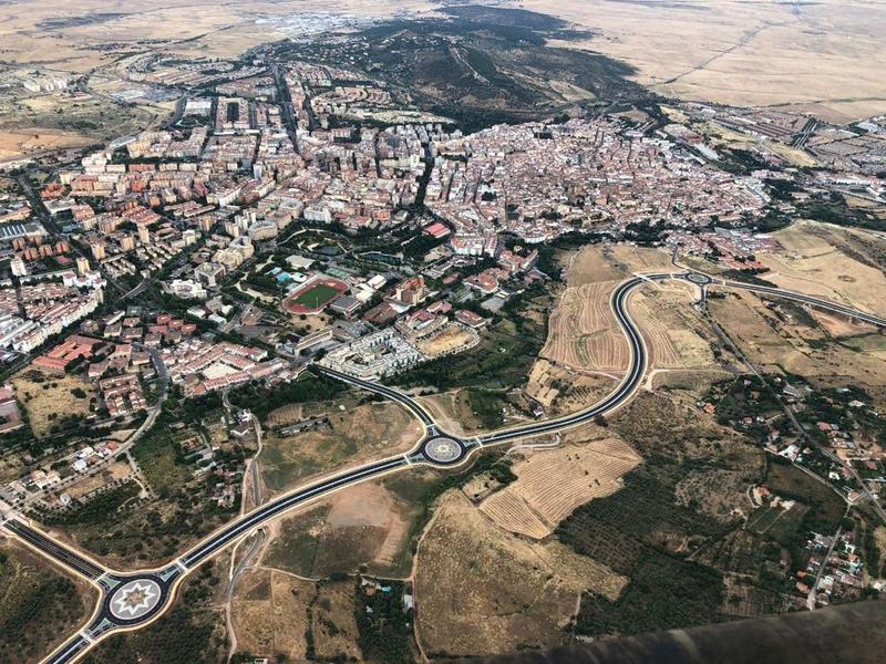 La Ronda Sureste de Cáceres se pondrá en servicio el lunes, 14 de junio