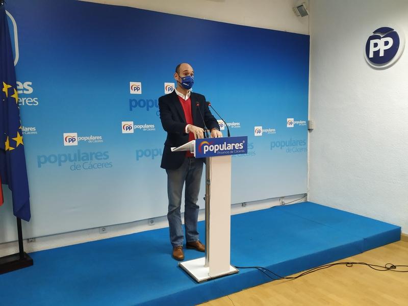 El PP tacha de insuficientes y poco ambicioso el plan Pueblos Con Futuro de la Diputación Provincial de Cáceres
